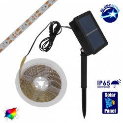 Independent Solar Photovoltaic Set with 3 Meters LED Tape GloboStar