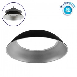 50-Degree Conversion Reflector Aluminum Reflector for Professional UFO High Bay 150 Watt (78011) GloboStar
