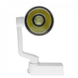 Μονοφασικό Bridgelux COB LED Φωτιστικό Σποτ Ράγας 15W 230V 1650lm 24 Μοιρών GloboStar