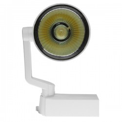 Μονοφασικό Bridgelux COB LED Φωτιστικό Σποτ Ράγας 30W 230V 3600lm 24 Μοιρών GloboStar