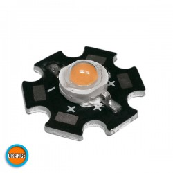 High Power Star LED 5W 3.2V Orange GloboStar