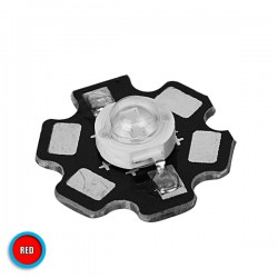 High Power Star LED  5W 2.1V Red GloboStar