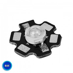 High Power Star LED 5W 3.2V Blue GloboStar