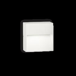 Απλίκα Αλουμινίου Εξωτερικού Χώρου 8,5 x 8,5cm LED 1x 28W G9 IP44 DOWN AP1 IDEAL LUX