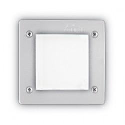 Επιτοίχιο Φωτιστικό Εξωτερικού Χώρου Σε Διάφορα Χρώματα Τετράγωνο IP66 1 x GX53 3W max LETI FI1 SQUARE IDEAL LUX