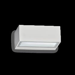 Απλίκα Αλουμινίου Εξωτερικού Χώρου Σε Διάφορα Χρώματα 1x G9 max 28W IP44 TWIN AP1 IDEAL LUX