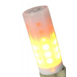 Λάμπα LED G9 Flame Με Εφέ Φλόγας 1400Κ Led Id
