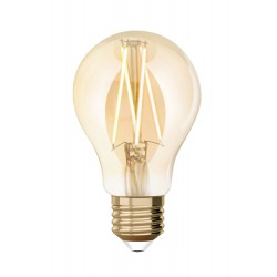 LED Idual Λάμπα Filament Με Τηλεχειριστήριο Για Εναλλαγή Φωτισμού Σε Σχήμα Αχλάδι 9W E27 2200K-5500K 240V 36° LUTEC
