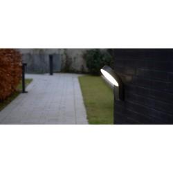 LED Απλίκα Αλουμινίου Εξωτερικού Χώρου 14W IP54 MERIDIAN LUTEC