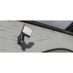 LED Επιτοίχιο Ηλιακό Φωτιστικό Με Αισθητήρα 7W IP44 SUNSHINE LUTEC