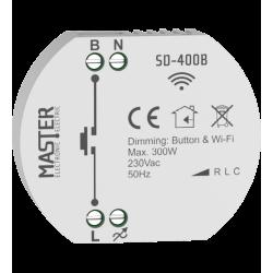 FLUSH – MOUNTED DIMMER 300W LED 230V AC SD-400B MASTER