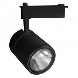 LED Φωτιστικό Ράγας 2-LINE 40W COB Σε Μαύρο Και Λευκό Space Lights