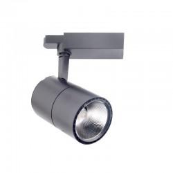 LED Φωτιστικό Ράγας 2-LINE 30W COB Σε Γκρι Χρώμα Space Lights