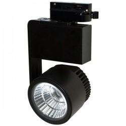 LED Φωτιστικό Ράγας 4-LINE 30W COB R Μαύρο Και Λευκό Space Lights