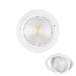 LED Recessed Spotlight Adjustable 20W COB 1900lm SpotLight 5990