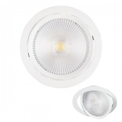 LED Recessed Spotlight Adjustable 30W COB 2850lm SpotLight 5991