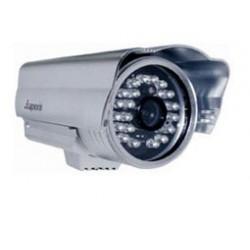 IP Κάμερα Ασύρματη MJPEG POE CMOS IRCUT Εξωτερική Ασημί J0233 APX Top Electronic
