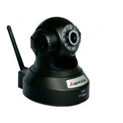 IP Camera Wireless H264 P / T CMOS IRCUT Black H804-WS APX Top Electronic
