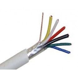 Alarm Cable 6X0.22 & Aluminum Sheet (A) HSU Top Electronic