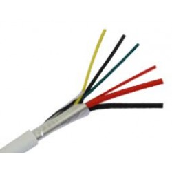 Alarm Cable 4X0.22+2X0.50 & Aluminium Sheet (A) HSU Top Electronic