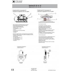 Σειρήνα Κόρνα Συνεχόμενος Ήχος 24VDC 108dB HPT AUER Top Electronics