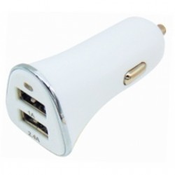 DC Car Power Adapter In 2 USB 3400mA 0500340A2 SOY - Top Electronics