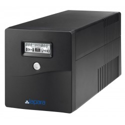 UPS LINE INTERACTIVE 1000VA Modified Halftone LA-VST-1K LCD BK VOL TOP ELECTRONIC