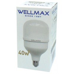 LED High Power E27 40W 176-264VAC 120X264 3500LM 230° 4000K Cool White WELLMAX