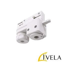 Ηλεκτρικός Αντάπτορας 6A 70mm Για Ράγες Φωτισμού IVELA