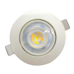Recessed LED Spot With Three Different Colour Rings 5.5W 460lm 4000K 38° UNIVERSE