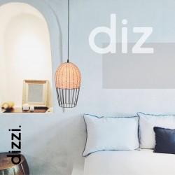 Μονόφωτο Κρεμαστό Φωτιστικό 1x E27 70W max Eco DIZZI VIOKEF
