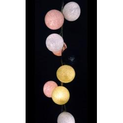 Έτοιμη Διακοσμητική Γιρλάντα Beelights Με Φωτάκια Σε Χρωματισμούς Alexia