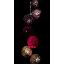 Έτοιμη Διακοσμητική Γιρλάντα Beelights Με Φωτάκια Σε Χρωματισμούς Ēgoïste