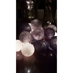 Έτοιμη Διακοσμητική Γιρλάντα Beelights Με Φωτάκια Σε Χρωματισμούς Precious Silver