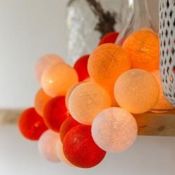 Έτοιμη Διακοσμητική Γιρλάντα Beelights Με Φωτάκια Σε Χρωματισμούς Triple Sec