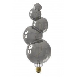 LED Λάμπα Filament 240V 4W 60lm E27, Titanium 2100K Dimmable Calex Alicante