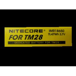 ΜΠΑΤΑΡΙΑ NITECORE IMR18650 TM28