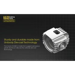Επαγγελματικός Φακός LED NITECORE HA40, Κεφαλής