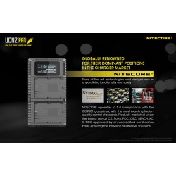 Charger NITECORE UCN2 PRO For CANON LP-E6N
