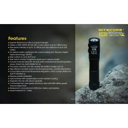 Επαγγελματικός LED NITECORE EXPLORER EC30 ,1800 Lumens
