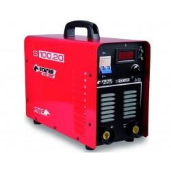 Ηλεκτροσυγκόλληση inverter industrial 200A - 230V STAYER - S100.20