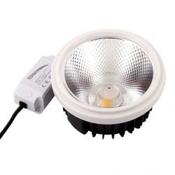 LED Λάμπα AR111 COB 20W 15º 220V + Driver Space Lights
