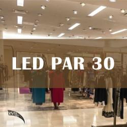 LED Λάμπα PAR30 35W Cree Chip 45º 230V Λευκή Space Lights