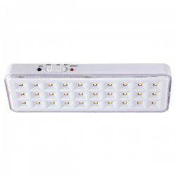 LED SMD Φωτιστικό Ασφαλείας Λευκό 3W  230V IP20 Spotlight