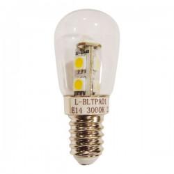 Λαμπτήρας T23 E14 Θερμό Λευκό 1.5W Διάφανο Spotlight