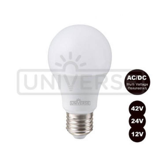 LED Bublb A60 LED 10W - 12/ 24/ 42V Universe