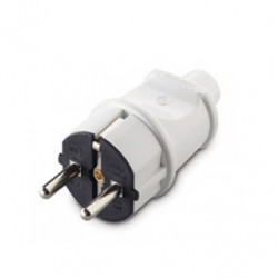Power Plug Schuko In White 240V/16A Makel