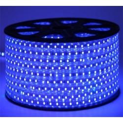 LED Ταινία 230V 14.4W/m 60L/m 5050 IP65 Dimmable - ΜΠΛΕ Universe
