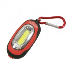 LED Keychain Flashlight With Clip Hook And Magnet 1W 2xCR2032 Universe
