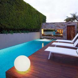 Floor Fixture With PVC Shade Decorative Ball IP65 CFL E27 Vegas VIOKEF